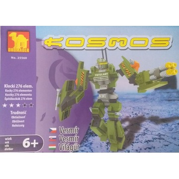 Klocki Dromader Kosmos Robot 276 elementów