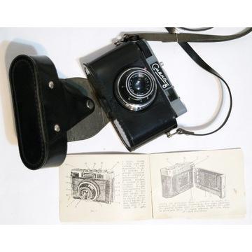 Stary rosyjski aparat fotograficzny  Smena 8 prl