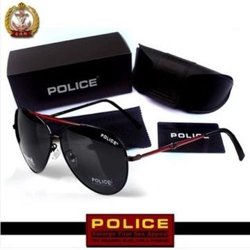 Oryginalne Przeciwsłoneczne Okulary Police