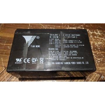 Akumulator żelowy 12v 7ah Tian Neng