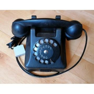 Telefon bakelitowy retro PRL