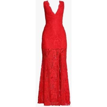 Missguided Czerwona sukienka Maxi