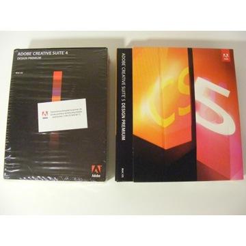 Adobe Design Premium PL BOX dwa pakiety CS4 + CS5