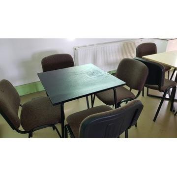 Stoły z krzesłami komplet 4szt