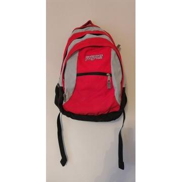 Placak Jansport torba szkoła wycieczka czerwony