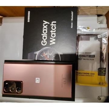 Samsung Galaxy Note 20 Ultra 5g,+Galaxy Watch 46mm