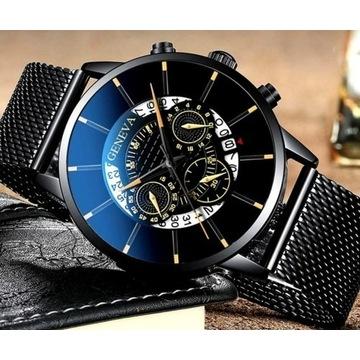 !HIT!Luksusowy zegarek męski LICYTACJA  OD 1 ZŁ