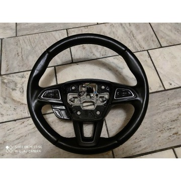 Kierownica Ford Focus MK3 skóra tempomat