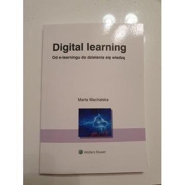 Książka Digital learning Marta Machalska
