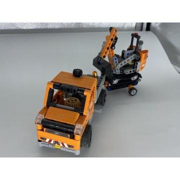 Zestaw Lego Technic 42060 Ekipa robót drogowych.