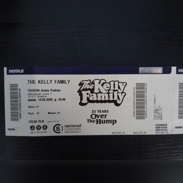 2 bilety na Kelly Family Kraków 14.02.2020