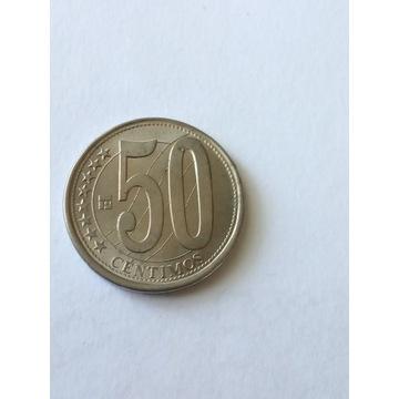 50 centimos Wenezuela 2007