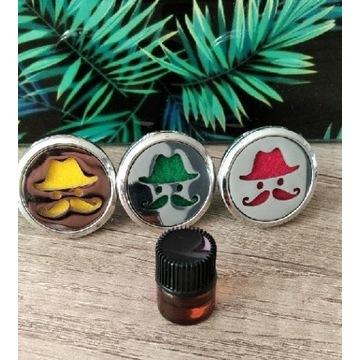 Dyfuzor samochodowy z olejkiem terapeutycznym