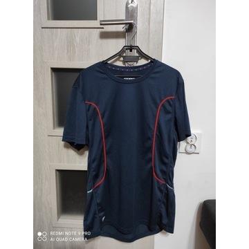 Męska koszulka sportowa granatowa rozmiar M nowa