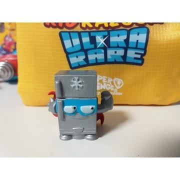 figurka Super Zings 4 srebrna lodówka RARE