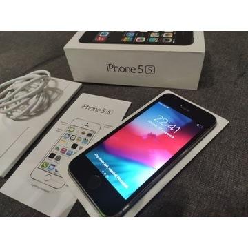 Iphone 5S Grey 32GB komplet po upadku w 90% działa