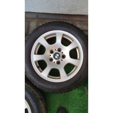 FELGI ALUMINIOWE BMW E60 E61 R16+ OPONY GRATIS