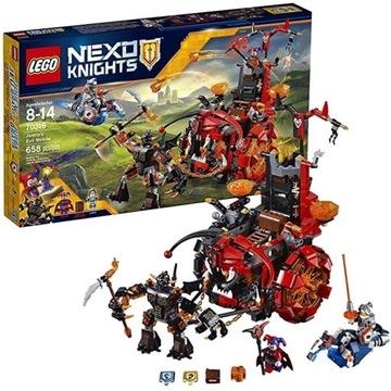 JAK NOWE * Lego Nexo Khnight* 70316 pojazd Jestro