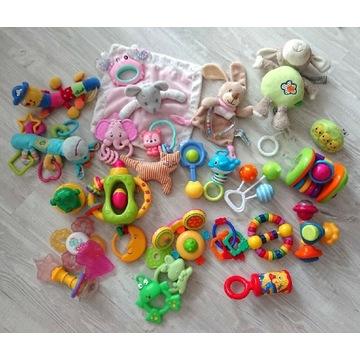 Zestaw zabawek 28 szt. dla niemowlaka + pozytywka