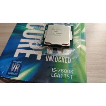PROCESOR Intel i5 7600K BOX pudełko GWARANCJA 1151