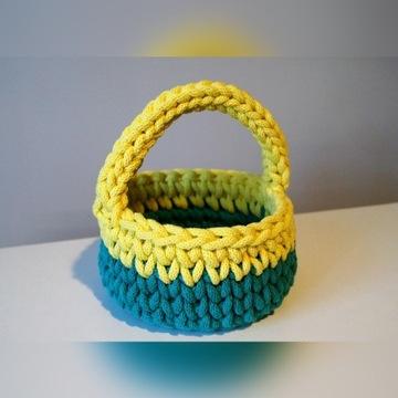 Koszyczki nie tylko wielkanocne ,sznurek, handmade