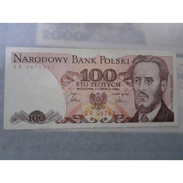 Banknot 100 zł polskie