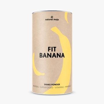 Natural Mojo Fit Banana koktajl białkowy
