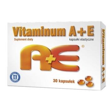 Witaminy A+E (2500j.m+10mg) zdrowa skóra,detoks