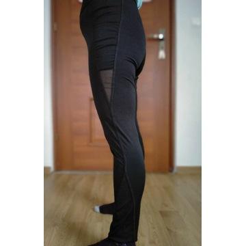 Czarne sportowe legginsy s/m