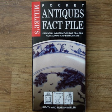 Książka Miller's Antiques - poradnik antyki, szkło