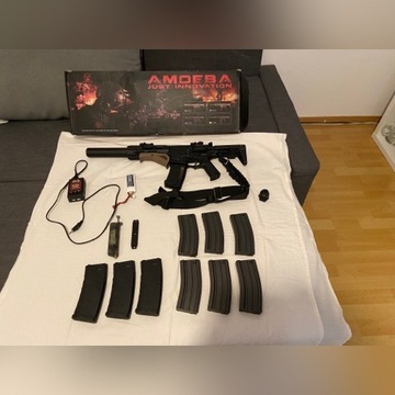 Karabinek Szturmowy AEG Ares Amoeba AM-014 Czarny