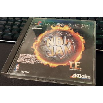 NBA JAM Tournament Edition PSX PS1 PAL