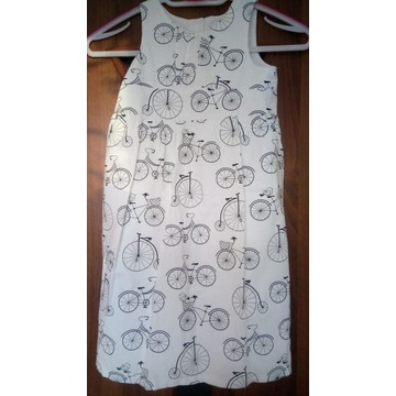 sukienka w rowerki
