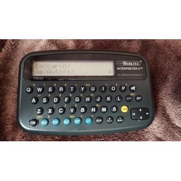 Xerox Berlitz Interpreter 2 Tłumacz z 1992 roku