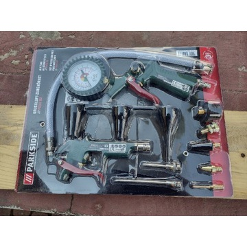 Zestaw narzędzi pneumatycznych Parkside nieużywany