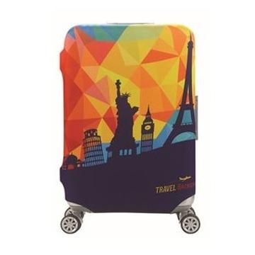 Elastyczny pokrowiec na walizkę L