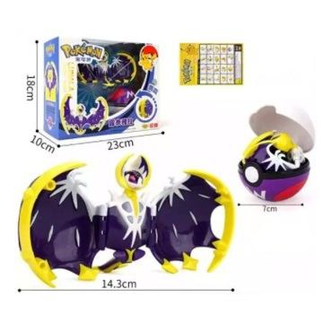 Pokeball Clip Składana figurka Pokemon - Lunala