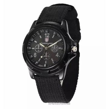 Militarny zegarek męski sportowy