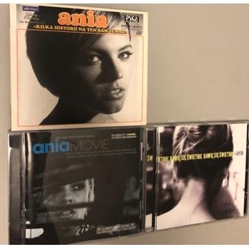 Ania Dąbrowska - 3 CD Ania, Ania movie, Bawię się
