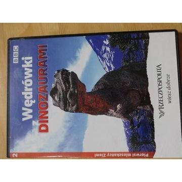 """___ DVD """"Wędrówki z dinozaurami"""" cz.2 BBC"""