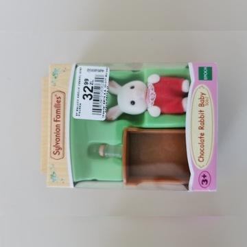 Sylvanian Families Chocolate Rabbit Baby 5062