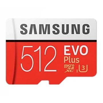 Karta pamięci Samsung EVO plus 512GB sdxc