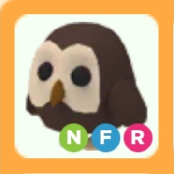 Roblox Adopt Me Owl NFR neon