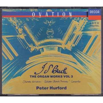 J.S.Bach / Organ Works vol. 3 / Peter Hurford 3CD