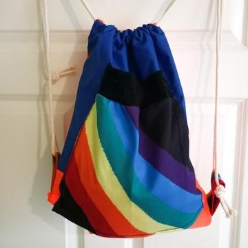 worek / plecak / LGBT / tęcza