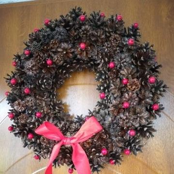 Wianek Świąteczny - Boże Narodzenie