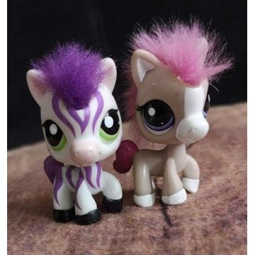 Littlest Pet Shop LPS komplet koników horse