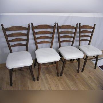 Sprzedam 4 tapicerowane krzesła