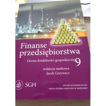 Oficyna Wydawnicza Sgh Finanse Przedsiębiorstwa 9