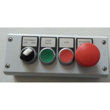Kaseta sterownicza 4-otworowa 22mm IP67 M22-I4